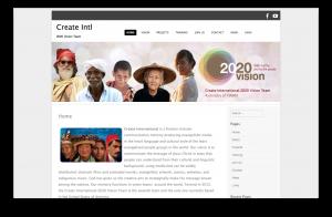 CREATE 2020 VISION TEAM
